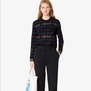 KENZO All Over Kenzo Paris Sweater